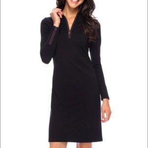 J McLaughlin Bedford shift dress black size small
